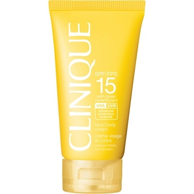 Clinique Sun Face & Body Cream SPF 15
