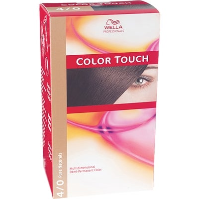 Wella Professionals Care Pure Naturals Color Touch 4/0