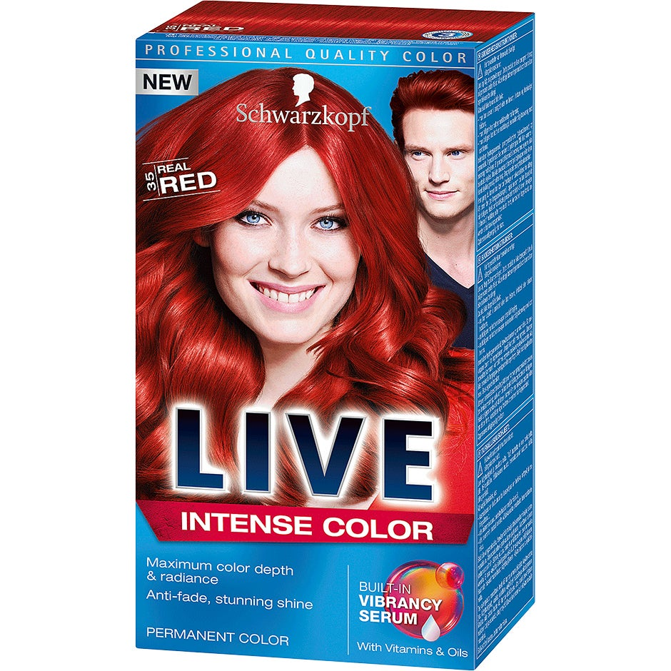 Schwarzkopf Live Color XXL 35 Real Red Schwarzkopf Hårfärg