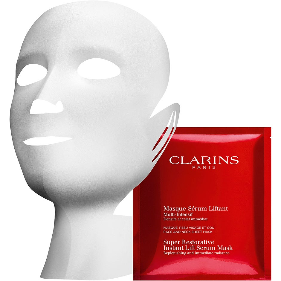 Clarins Super Restorative Instant Lift Serum-Mask 150 ml Clarins Ansiktsmask