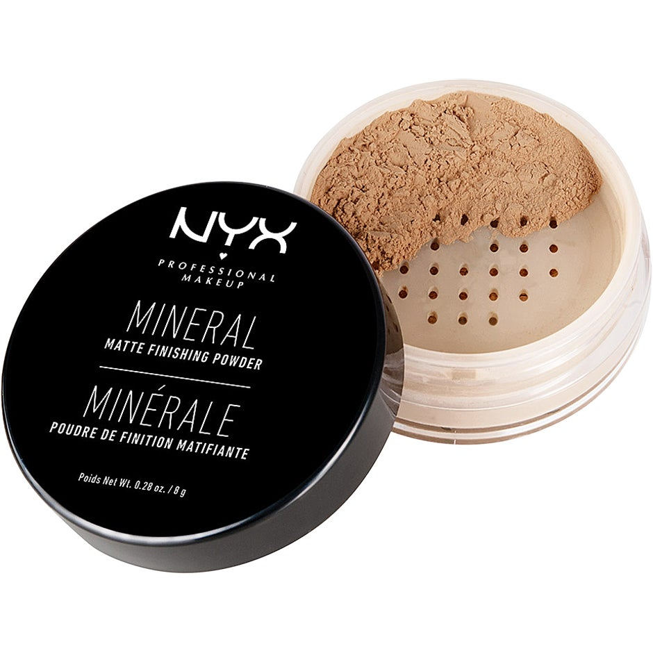 NYX PROFESSIONAL MAKEUP Mineral Matte Finishing Powder,  8g NYX Professional Makeup Puder