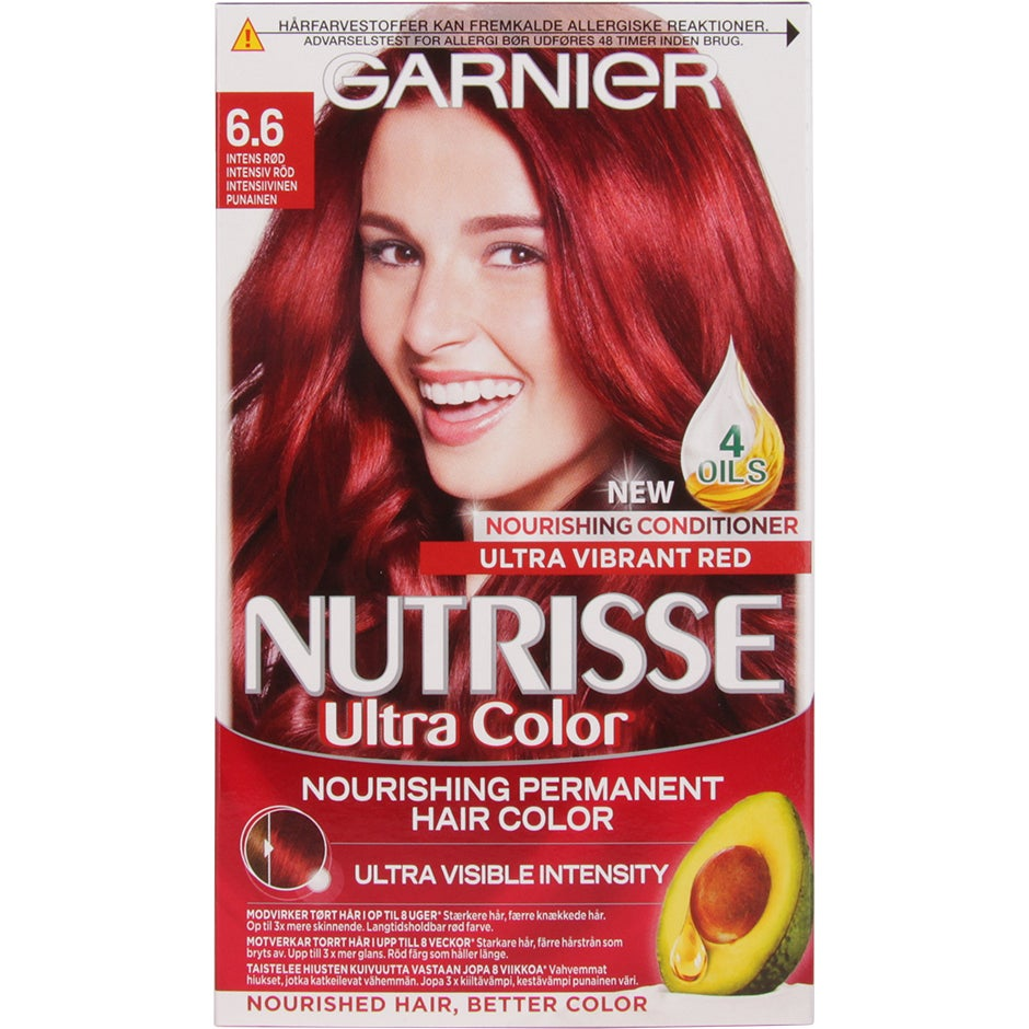 Garnier Nutrisse Ultra Color Intense Red Garnier Röd hårfärg