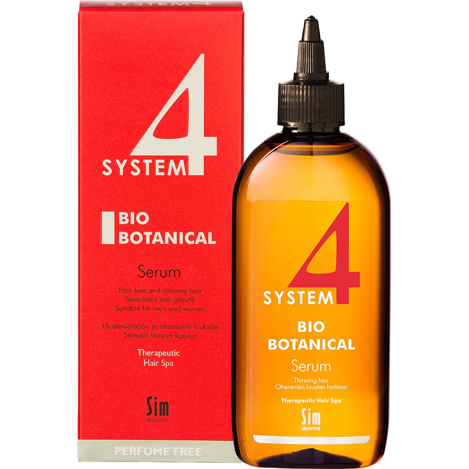SIM Sensitive System 4 Bio Botanical Serum 200 ml SIM Sensitive Hårinpackning