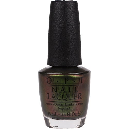OPI Nail Lacquer, Green On The Runway
