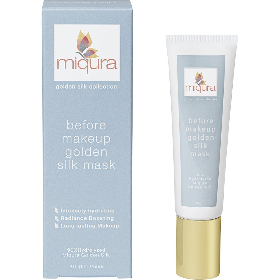 Gold Silk Before Makeup Mask 15 g Miqura Ansiktsmask