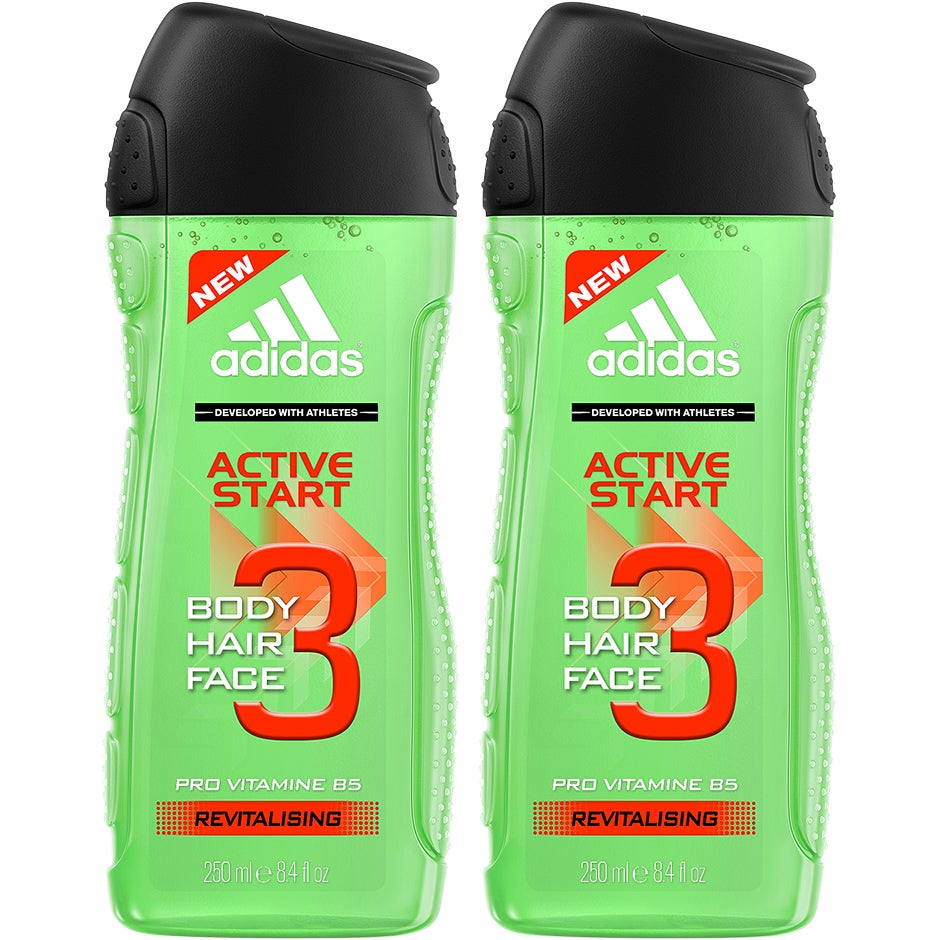 3 in 1 Active Start Duo, Adidas Bad- & Duschcreme