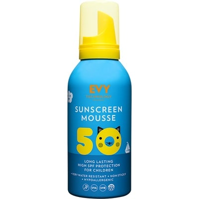 EVY Technology EVY Sunscreen Mousse For Kids SPF50