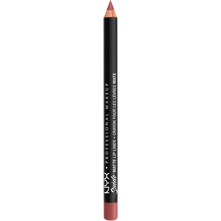 NYX PROFESSIONAL MAKEUP Suede Matte Lip Liner, Cabo 1 g NYX Professional Makeup Läppenna