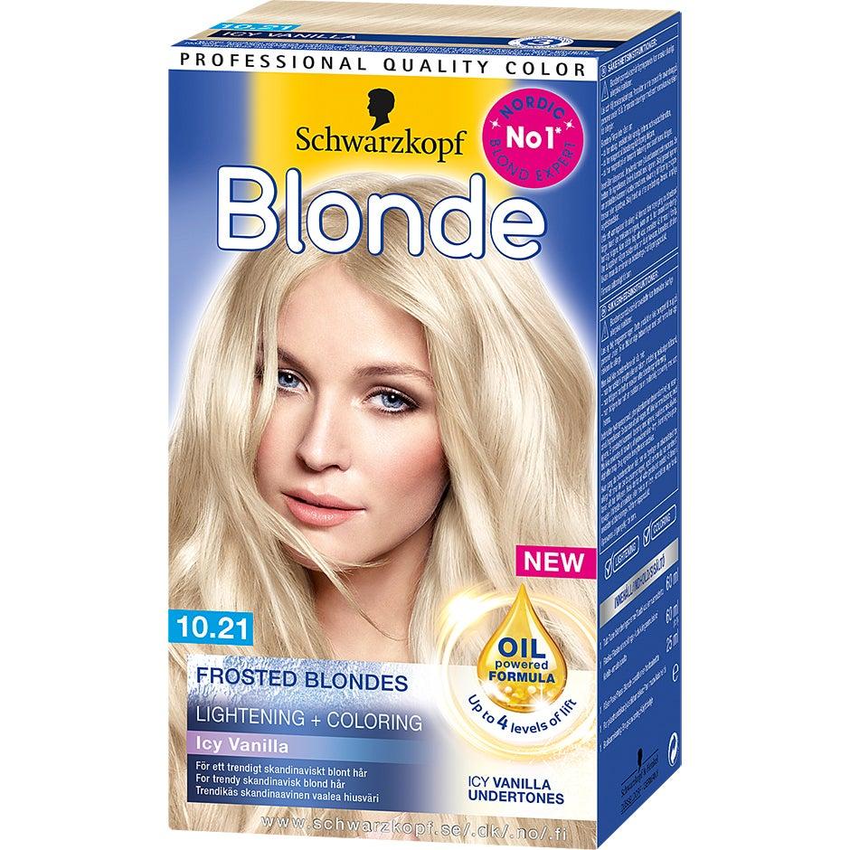 Schwarzkopf Frosted Blonde 10.21 Icy Vanilla 143 ml Schwarzkopf Blond hårfärg