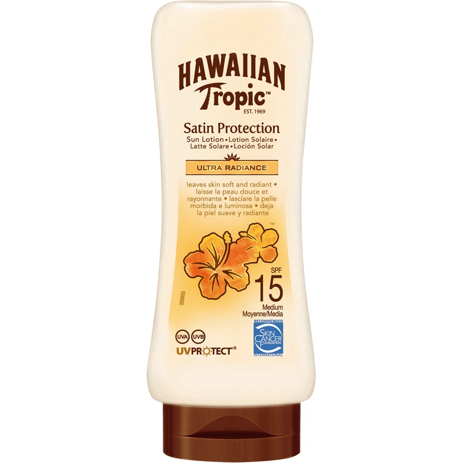 Hawaiian Tropic Satin Protection Lotion 180 ml Hawaiian Tropic Solprodukter