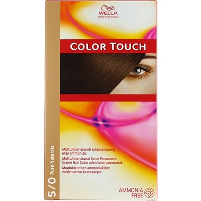 Wella Professionals Care Pure Naturals Color Touch 5/0
