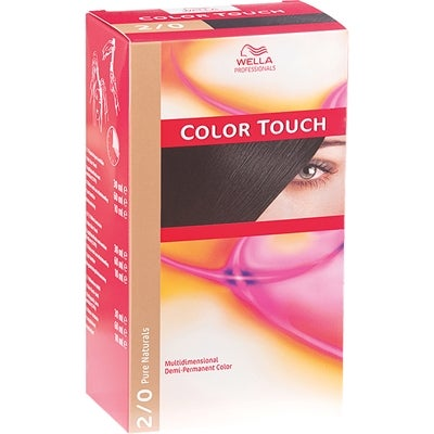 Wella Professionals Care Pure Naturals Color Touch 2/0