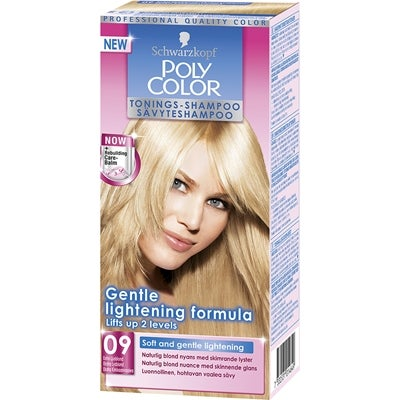 Schwarzkopf Poly Color Tonings-Shampoo, 09 - Extra Ljusblond