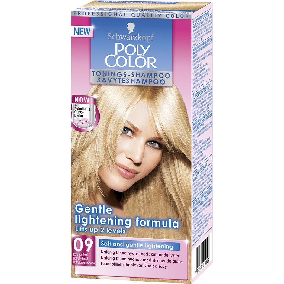 Schwarzkopf Poly Color Tonings-Shampoo 09 – Extra Ljusblond Schwarzkopf Hårfärg