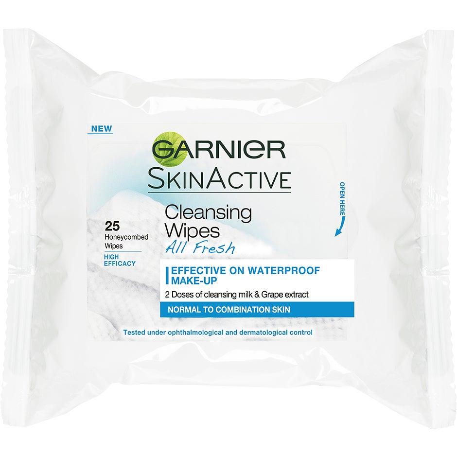 Garnier Cleansing Wipes All Fresh Normal To Combination Skin Garnier Remover