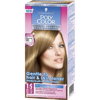 Schwarzkopf Poly Color Tonings-Shampoo, 15 - Mellanblond