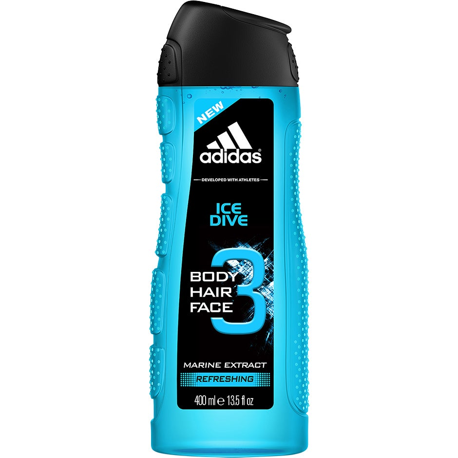 Ice Dive For Him, 400 ml Adidas Dusch & Bad