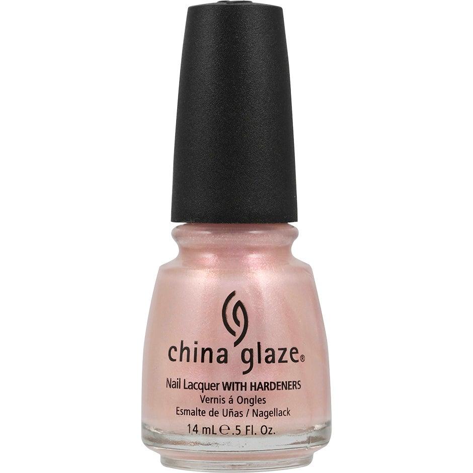 China Glaze Nail Lacquer Temptation Carnation 14 ml China Glaze Alla färger