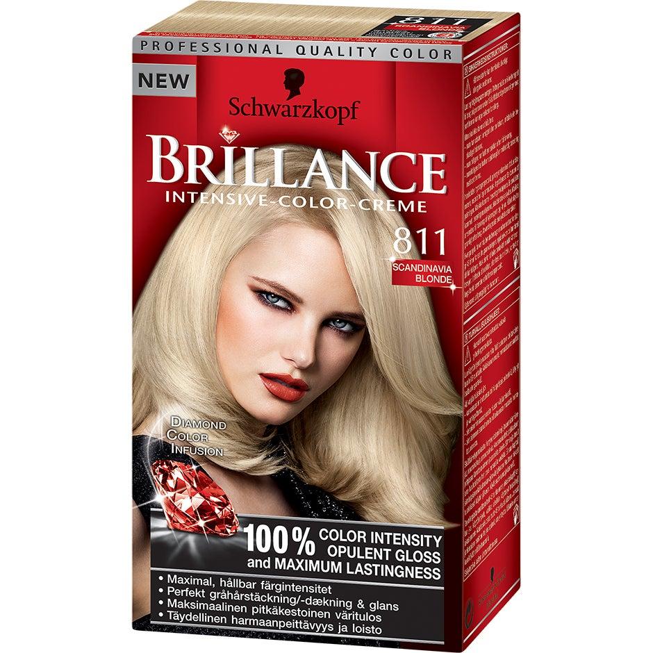 Schwarzkopf Brillance Intensive Color-Creme 811 Skandinavisk Blond Schwarzkopf Hårfärg