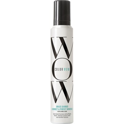 Colorwow Brass Banned Correct & Perfect Mousse For Dark Hair