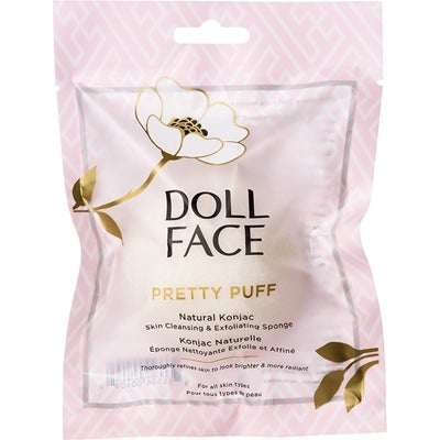 Doll Face Pretty Puff Original Konjac Cleansing Sponge