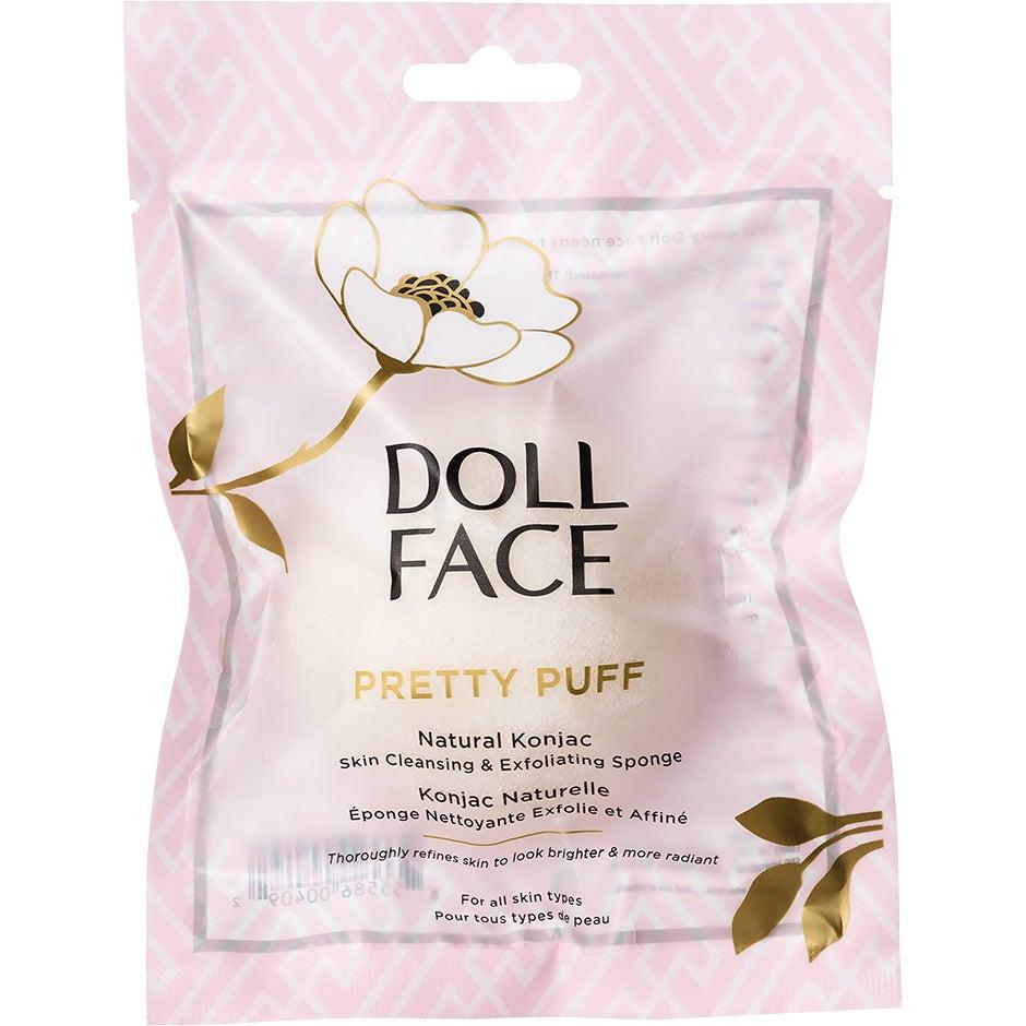 Doll Face Pretty Puff Original Konjac Cleansing Sponge Doll Face Ansiktsvårdstillbehör