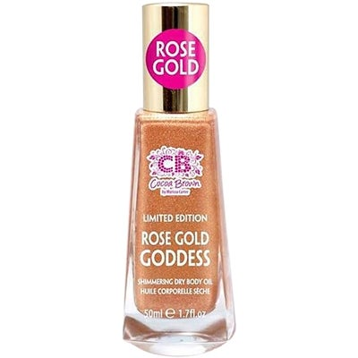 Cocoa Brown Shimmering Dry Body Oil