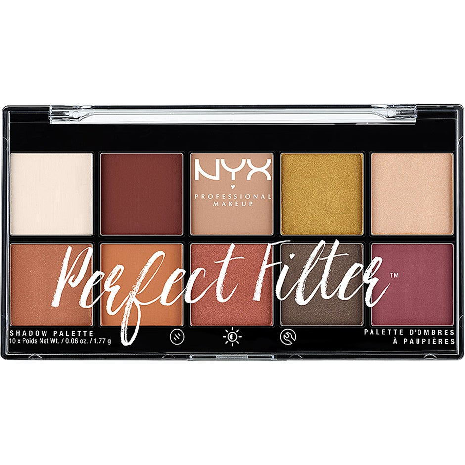 Perfect Filter Shadow Palette NYX Professional Makeup Ögonpaletter