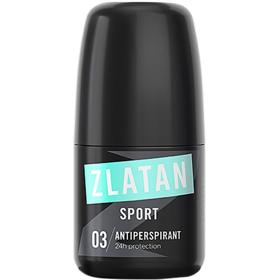 Zlatan Sport Antiperspirant Roll-On 50 ml Zlatan Ibrahimovic Parfums Herrdeodorant