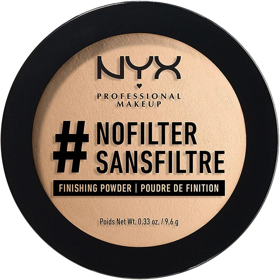 #Nofilter Finishing Powder NYX Professional Makeup Puder