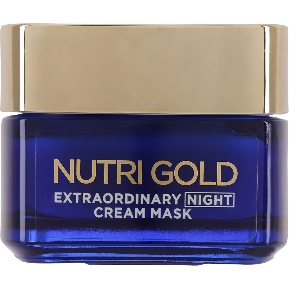 L'Oréal Paris Nutri Gold Extraordinary Night Cream Mask 50 ml L'Oréal Paris Ansiktsmask