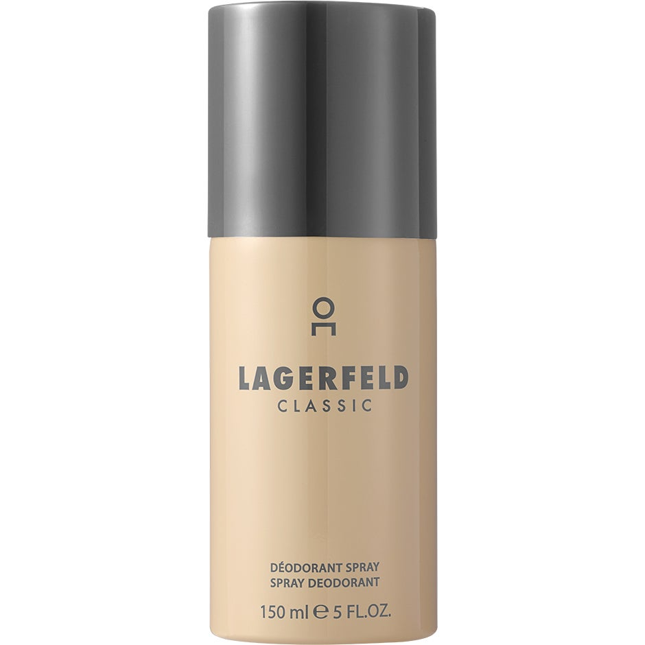 Karl Lagerfeld Classic Deodorant Spray 150 ml Karl Lagerfeld Herrdeodorant