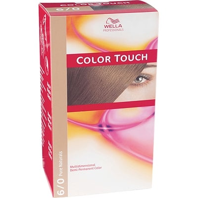 Wella Professionals Care Pure Naturals Color Touch 6/0