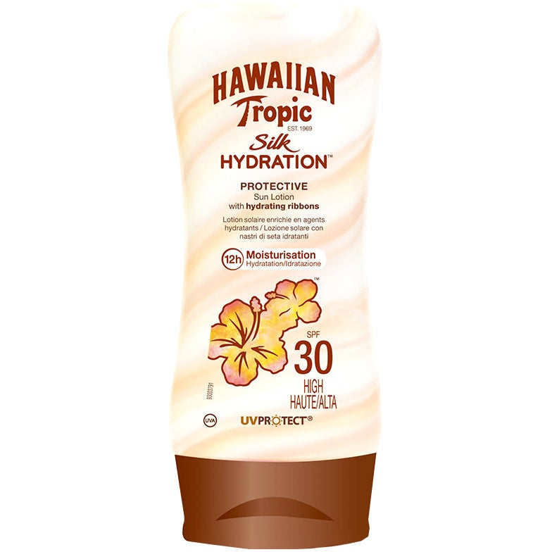 Hawaiian Tropic Silk Hydration Protective Sunlotion SPF 30 180 ml Hawaiian Tropic Solkräm