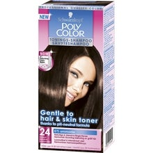 Schwarzkopf Poly Color Tonings-Shampoo, 24 - Mörkbrun