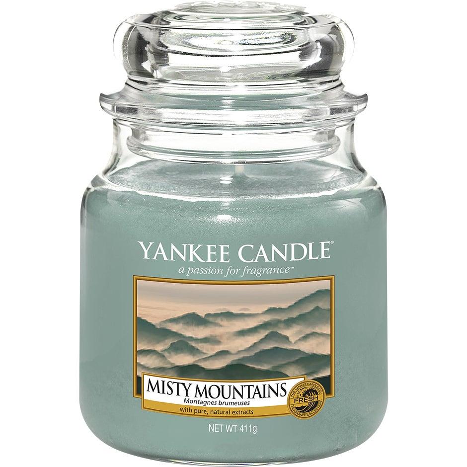 Misty Mountains 411 g Yankee Candle Doftljus