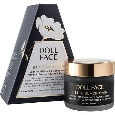 Doll Face Little Black Mask