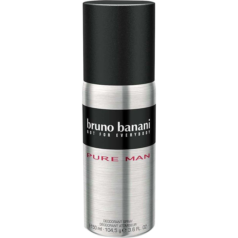 Bruno Banani Pure Man Deodorant Spray 150 ml Bruno Banani Herrdeodorant