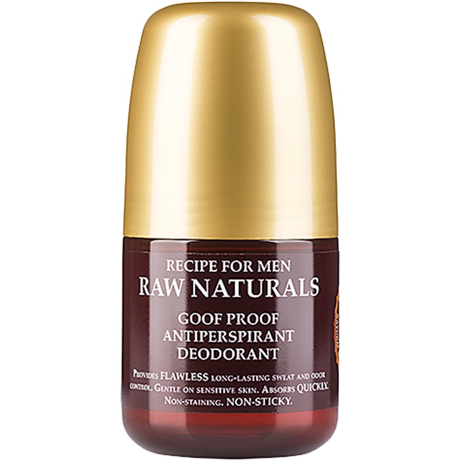 Raw Naturals Goof Proof Antiperspirant Deodorant 60 ml Raw Naturals by Recipe for Men Herrdeodorant