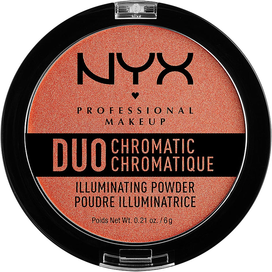 Duo Chromatic Illuminating Powder NYX Professional Makeup Highlighter