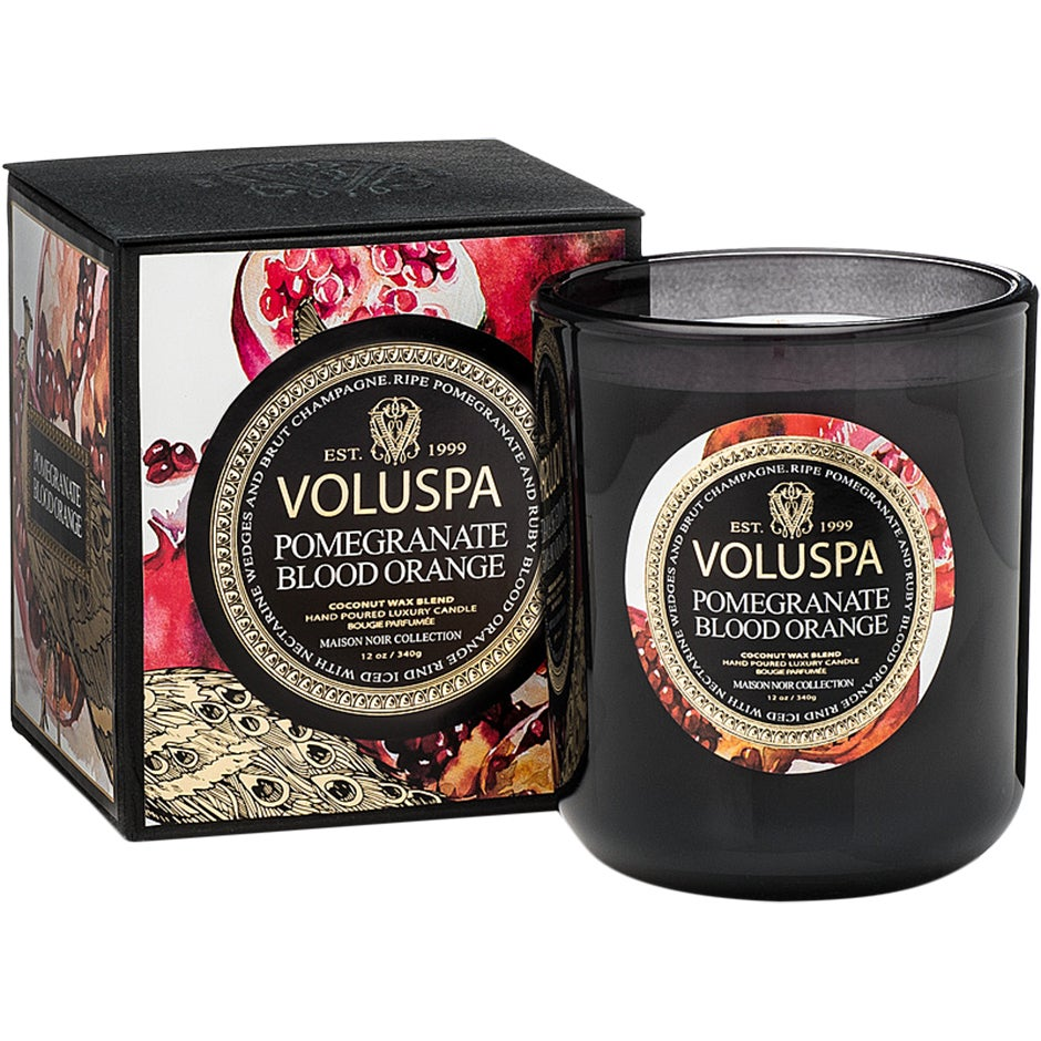 Voluspa Classic Maison Candle Pomegranate Blood Orange 340 g Voluspa Doftljus