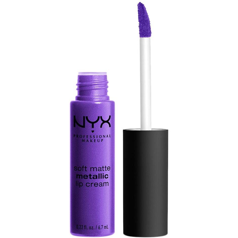 Soft Matte Metallic Lip Cream 6.7 ml NYX Professional Makeup Läppstift