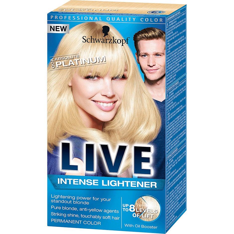 Schwarzkopf Live Color XXL 00A Absolute Platinum Schwarzkopf Hårfärg
